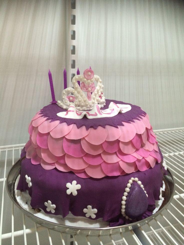 Prinsesse Sofia kake