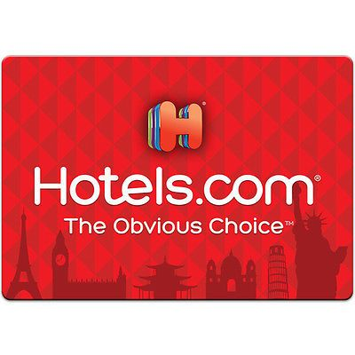 Gift Cards: $100 Hotels.Com Gift Card For Only $90! - Free Mail Delivery -> BUY IT NOW ONLY: $90 on eBay!