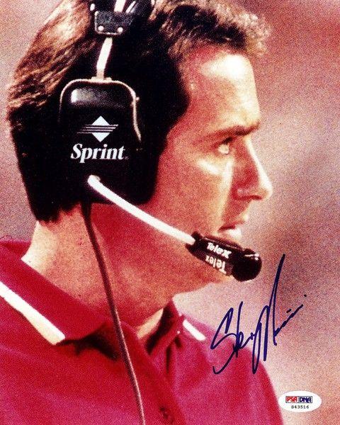 Steve Mariucci Autographed 8x10 Photo PSA/DNA #S43516