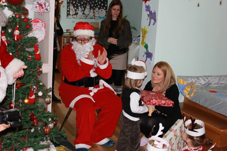 Yılbaşında Noel Baba Geldi...