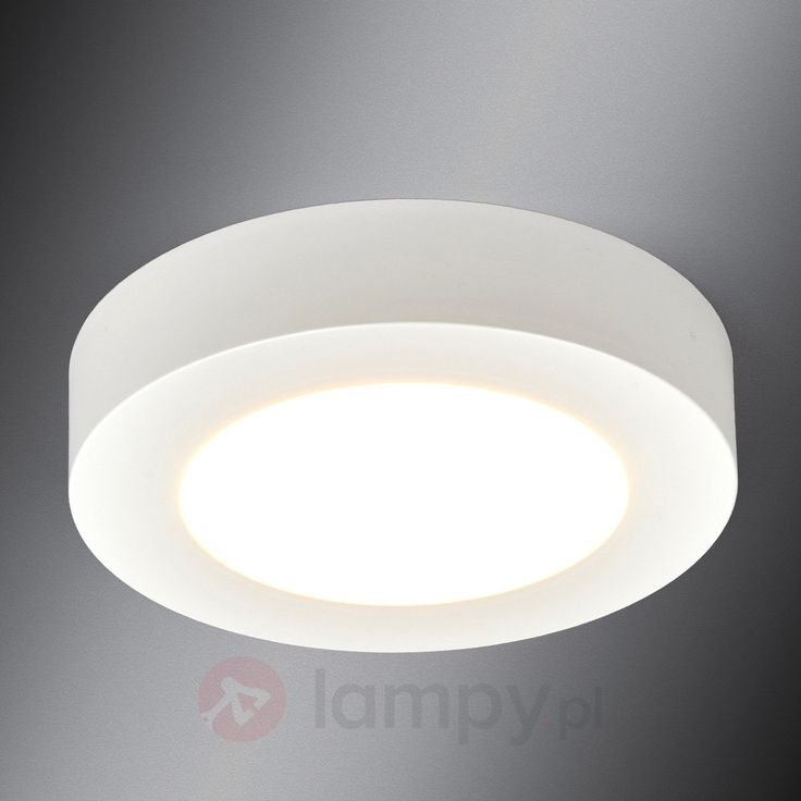 Okrągła lampa sufitowa LED ESRA do łazienki bezpieczne & wygodne zakupy w sklepie internetowym Lampy.pl.