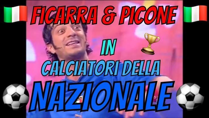 Ficarra & Picone in calciatori della Nazionale e lampada