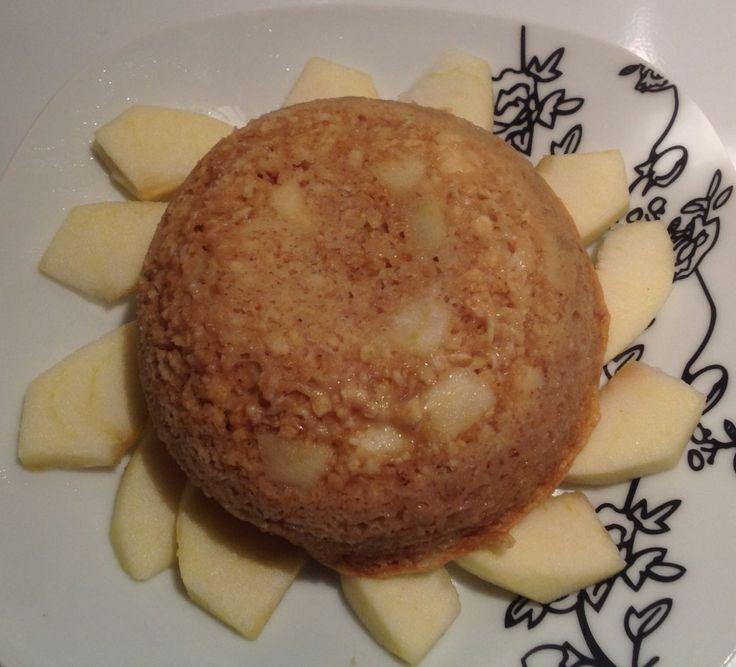 Recette Bowl cake à la pomme - 4pp proposée par alimentationWW sur son blog alimentation WW