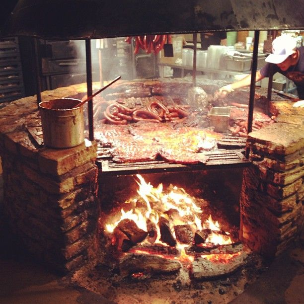 Must go here! It's a restaurant called The Salt Lick in Texas.  I would like to re-echo the best repost I read about this place: OMGWTFBBQ!!