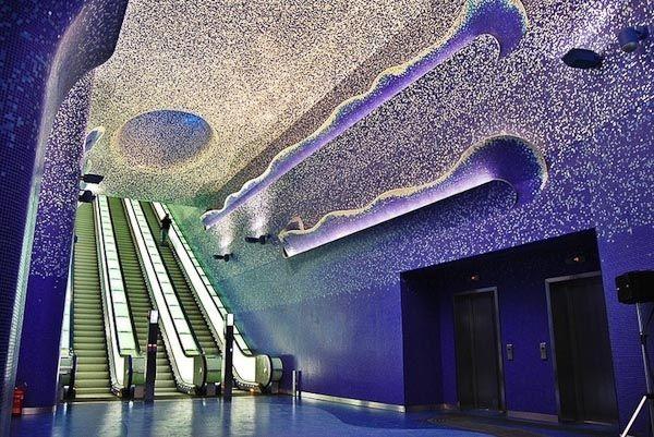 Toledo Metro Station (Naples/ Italy)