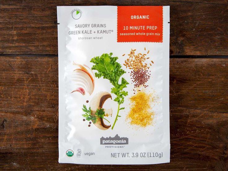 Patagonia Provisions Green Kale and Kamut Khorasan wheat savory grains package shot front