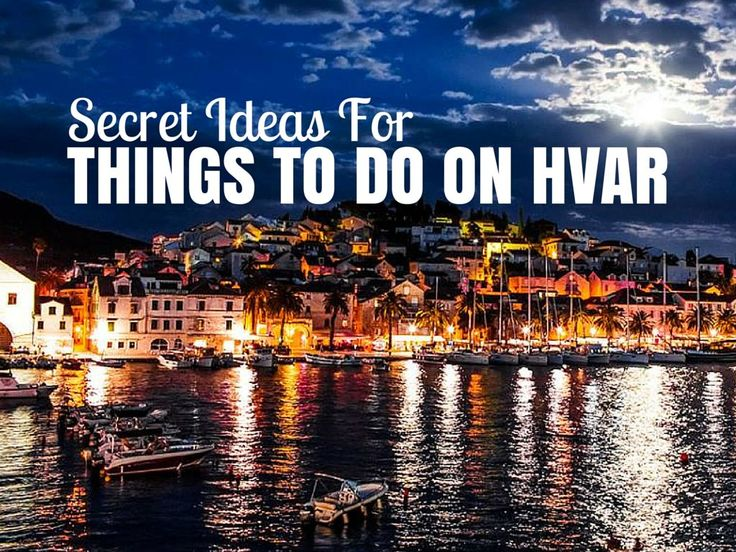 Everyone loves a secret spot, and so here are 5 things to do on Hvar which live in the shadows of more famous neighbours.