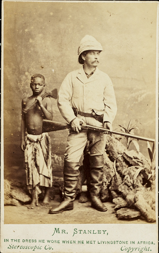 Carte De Visite: Mr. Stanley, In The Dress He Wore When He Met  Mr Livingstone I Presume