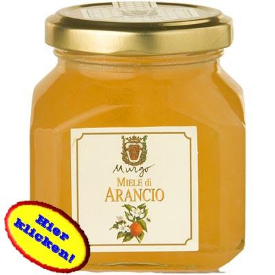 Von den Blüten der Orangenbäume des Barons del Murgo stammt der Nektar! Hier klicken: http://blogde.rohinie.com/2013/01/honig/ #Italien #Honig #Marmelade #Konfituere #Brotaufstrich #Fruehstueck