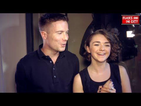 Game of Thrones Season 3 - Special guests Maisie Williams, Joe Dempsie, Apprentice finalist Kate Walsh, Grace Woodward & a Tower of London Beefeater chat about Game of Thrones Season 3 Red Wedding episode, Maisie Williams' Vine video on Twitter, their favourite characters, the most spectacular deaths on the show, 2013 Emmy nominations for Game of Thrones & why they love the show so much.