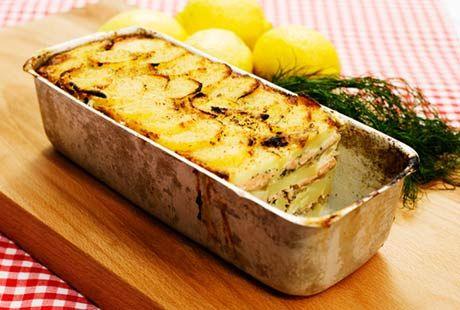 Laxpudding | Recept från Köket.se