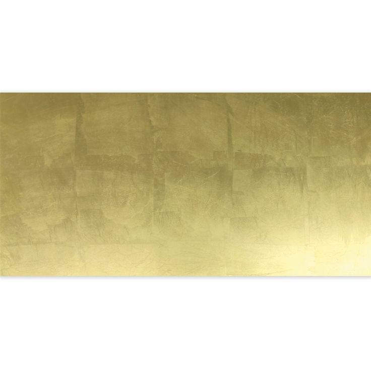 Glasfliese Dekor Gold Metall Effekt 30x60cm - 1 Stück