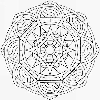 I would love to try something as ornate as this Mandala.