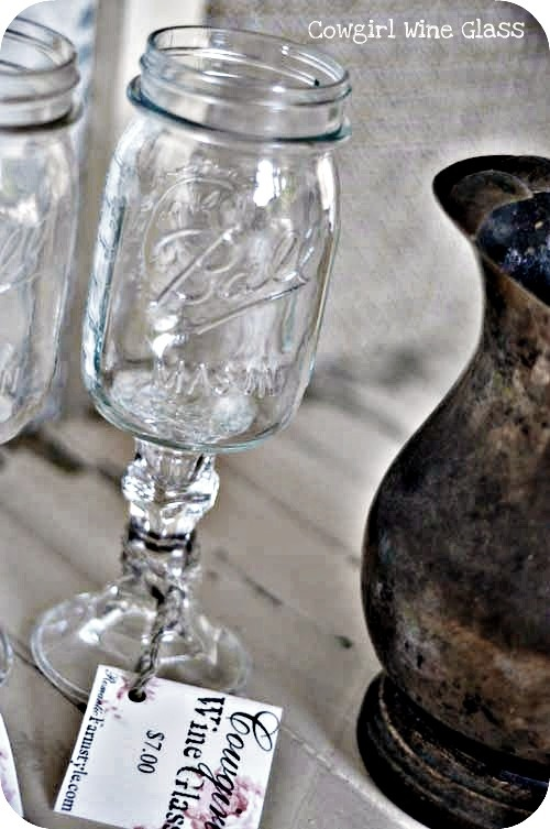 Cowgirl wine glass!!!