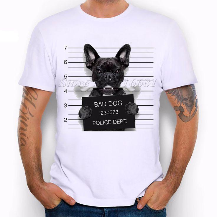 Dog criminal t-shirt