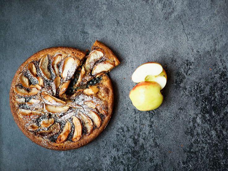 Æbletærte med farin og kanel