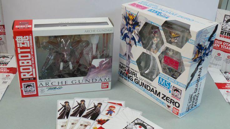 2 φιγούρες της anime σειράς Gundam