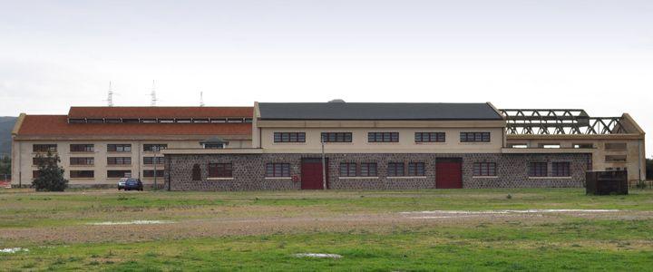Vista laterale Museo PAS Martel