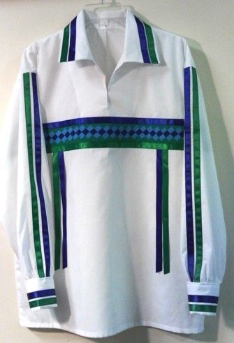 Seminole Ribbon Shirt http://www.littlecrowtradingpost.com/pagebuckskin.htm