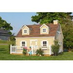 Little Cottage Company Cape Cod Small Playhouse Kit with Floor & Reviews | Wayfair