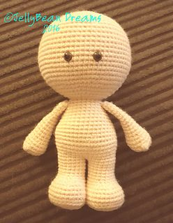 Gum Drop Naked Doll free crochet pattern