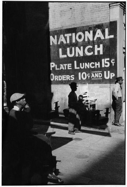 Memphis, Tennessee, 1947© Henri Cartier-Bresson