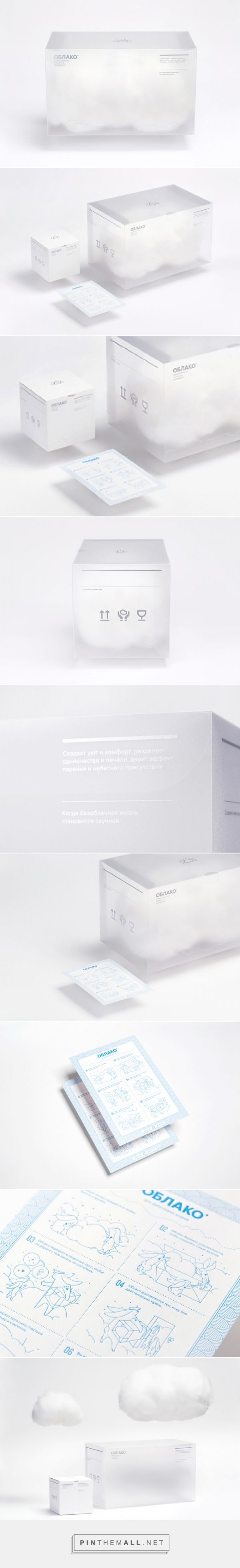 Clouds Packaging on Packaging of the World - Creative Package Design Gallery - created via http://pinthemall.net