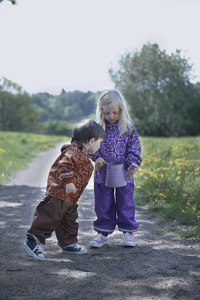 S/S 2014 ej sikke lej: Rainwear, Kids wear