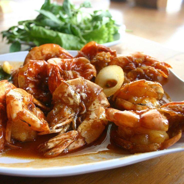 Dinner time, do you like shrimp? try Mang Engking Godean