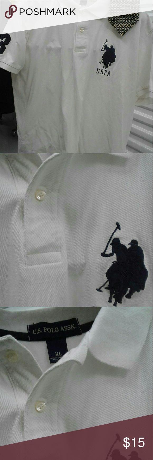 Polo shirt szXL $15 ,+Free necktie Polo shirt szXL $15 sold new $69 + Free necktie us polo association Shirts Polos