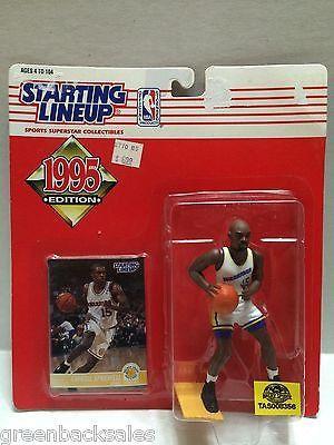 (TAS008356) - 1996 Edition Starting Lineup - NBA - Latrell Sprewell #15 Warriors