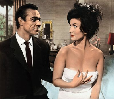 Miss Taro From Dr. No. The Honey Trap. Just Be Careful Of Her Nail Varnish.