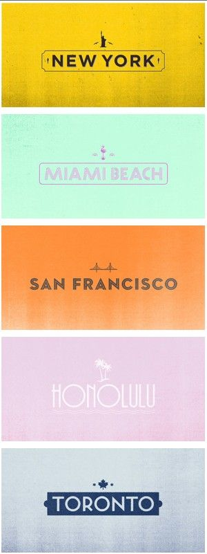 well done Kate Spade...see font does help change the feel.