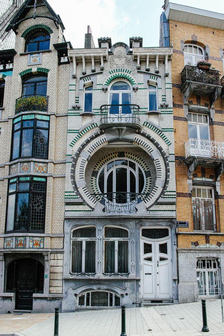 165 best art nouveau bruxelles belgium images on pinterest. Black Bedroom Furniture Sets. Home Design Ideas