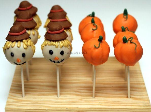 Fall cake pops.