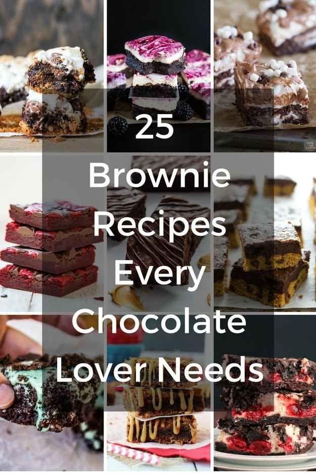 25 Brownie Recipes Every Chocolate Lover Needs