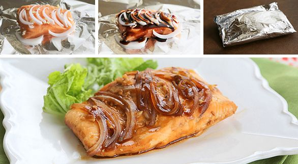 4 Ingredient Teriyaki Salmon