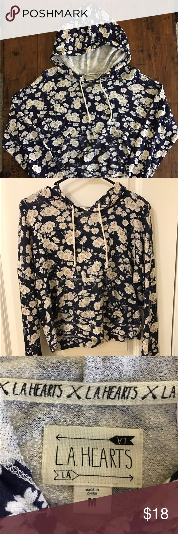 Pacsun LA HEARTS Daisy Floral Hoodie LA HEARTS by Pacsun Daisy Floral Hoodie. Features long sleeves and front kangaroo pocket. Cut in a super soft knit material. Ideal for layering. LA Hearts Tops Sweatshirts & Hoodies