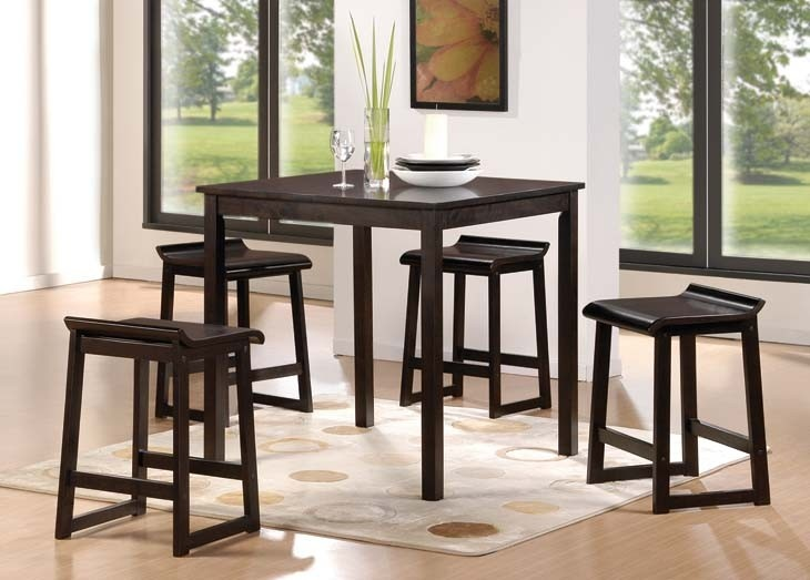 Counter Height Stools Jysk : ... Dining Set - Solid wood/MDF/veneer. Espresso finish. Counter height