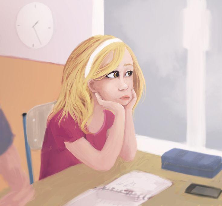 Afternoon lesson by HARuNIS.deviantart.com on @DeviantArt