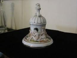 antique porcelaine bell