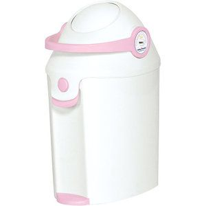 diaper champ: performs the same task as diaper genie, uses any brand of tall kitchen bags as refills! $$$ saver!