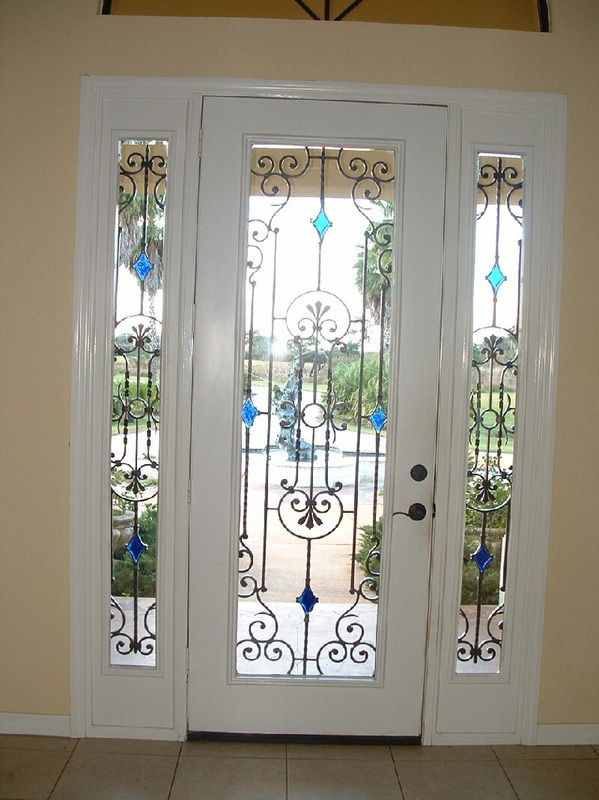 Doors and Windows -- Wrought Iron Entry Door