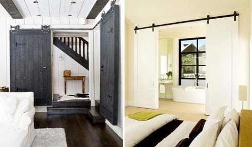 25 best ideas about double porte coulissante on pinterest - Rail double porte coulissante ...