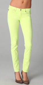 ag neon jeans
