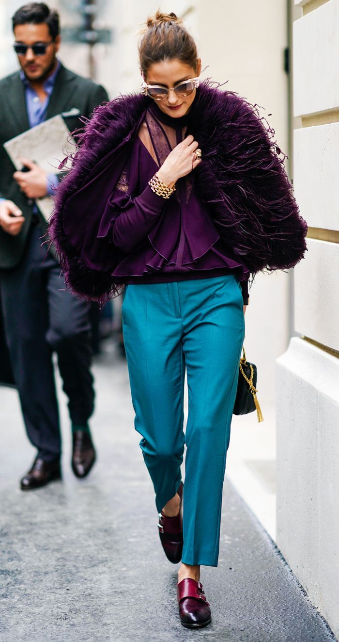 At Paris Haute Couture Fashion Week Olivia Palermo just wore an outfit we really didn't see coming. Click to see her look!