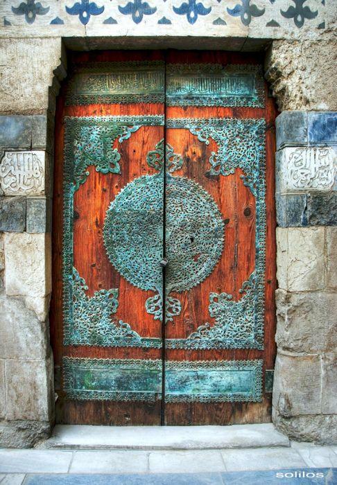 verdigris door: The Doors, Doorway, Window, Qalaun Doors, Colors, Portal, Beautiful Doors, Entrance, Wood Doors