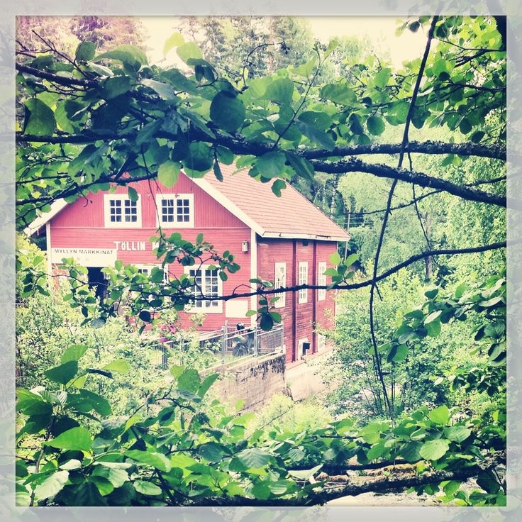 Tölli Mill where you can grind your own flour or by local products. Photo by Helena Kontio #lohja #visitlohja