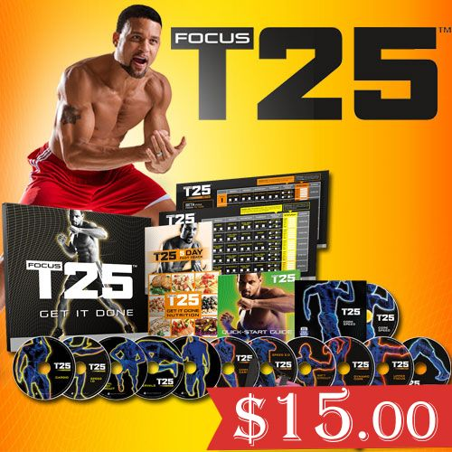 "Want to ""Download Focus T25 Workout?"" You are at the right place! Focus T25 is a special designed home workout program. Get Results in 30 days with only 25 min."
