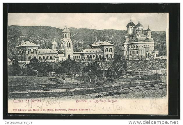 Curtea de Arges - Biserica si Resedinta Regala